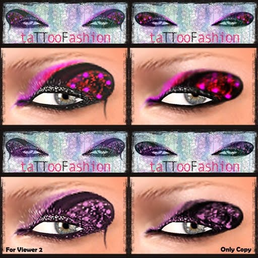 TTF – EYES TATTOO – SET 7/B