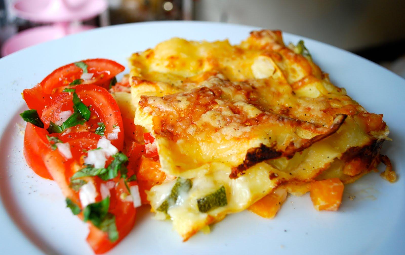 god vegetarisk lasagne