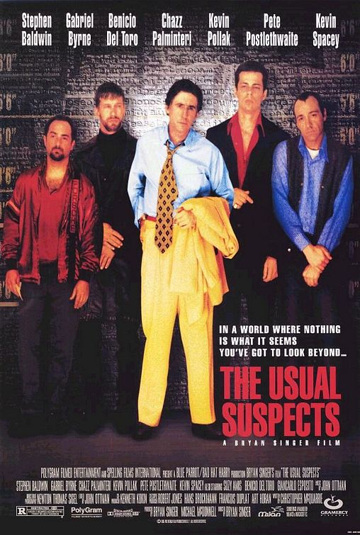Commentarama: Film Friday: The Usual Suspects (1995)
