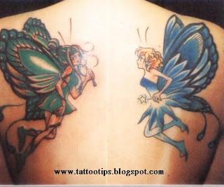 Butterfly Symmetry Tattoo