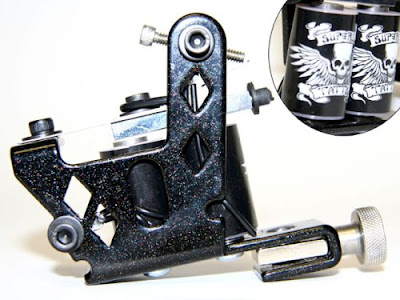 There are several types of tattoo guns available, many of which use a very
