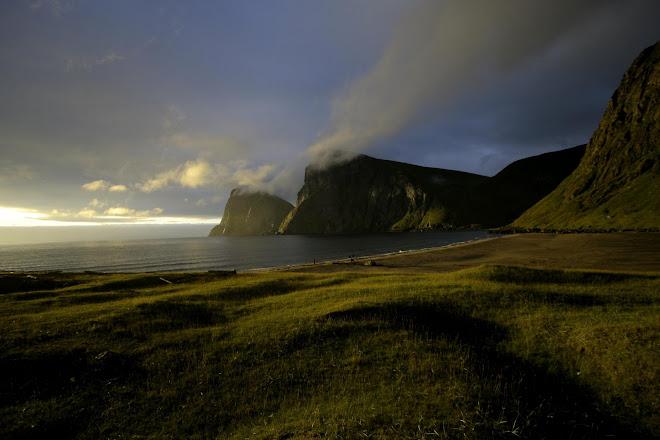 La llum em va fer sortir com un boig, Era les 3 de la matinada. Illa Noruega de les Lofoten