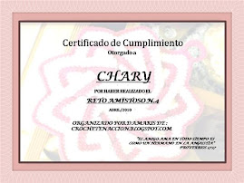 Certificado 4to reto de Damaris