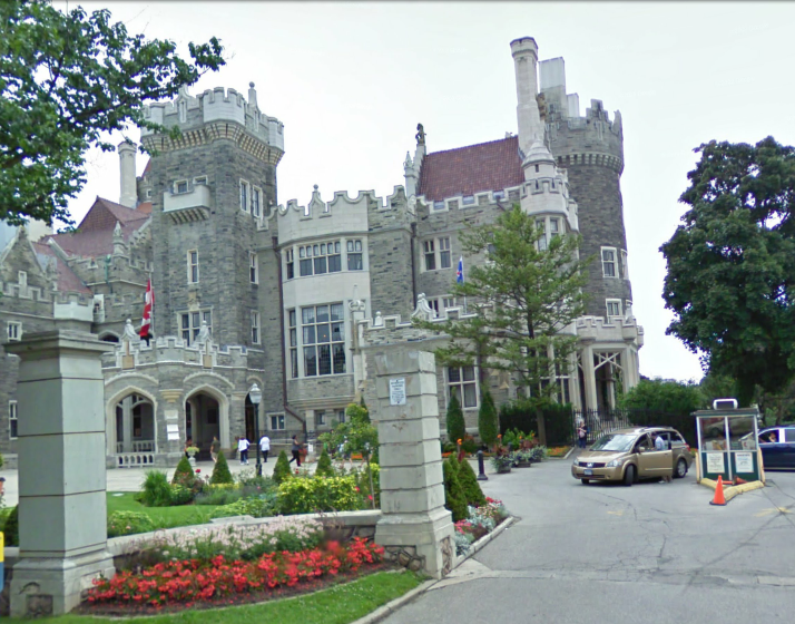 Toronto casa loma for Casa loma mansion toronto
