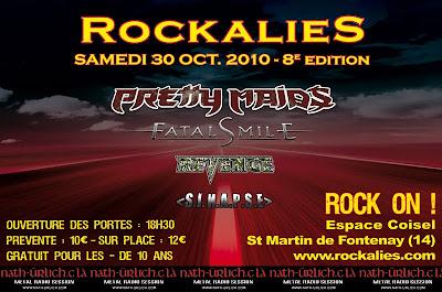 World Wide Live : le ticket live Rockalies_2010