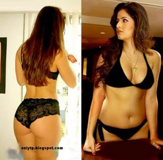 Katrina Kaif sexy black lingerie