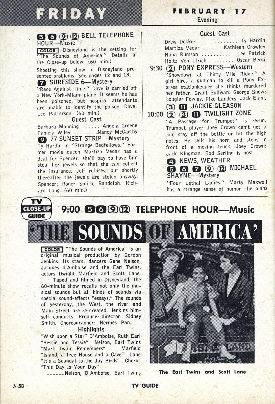 Vintage TV Guide February 1963 McHale's Navy Ernest Borgnine