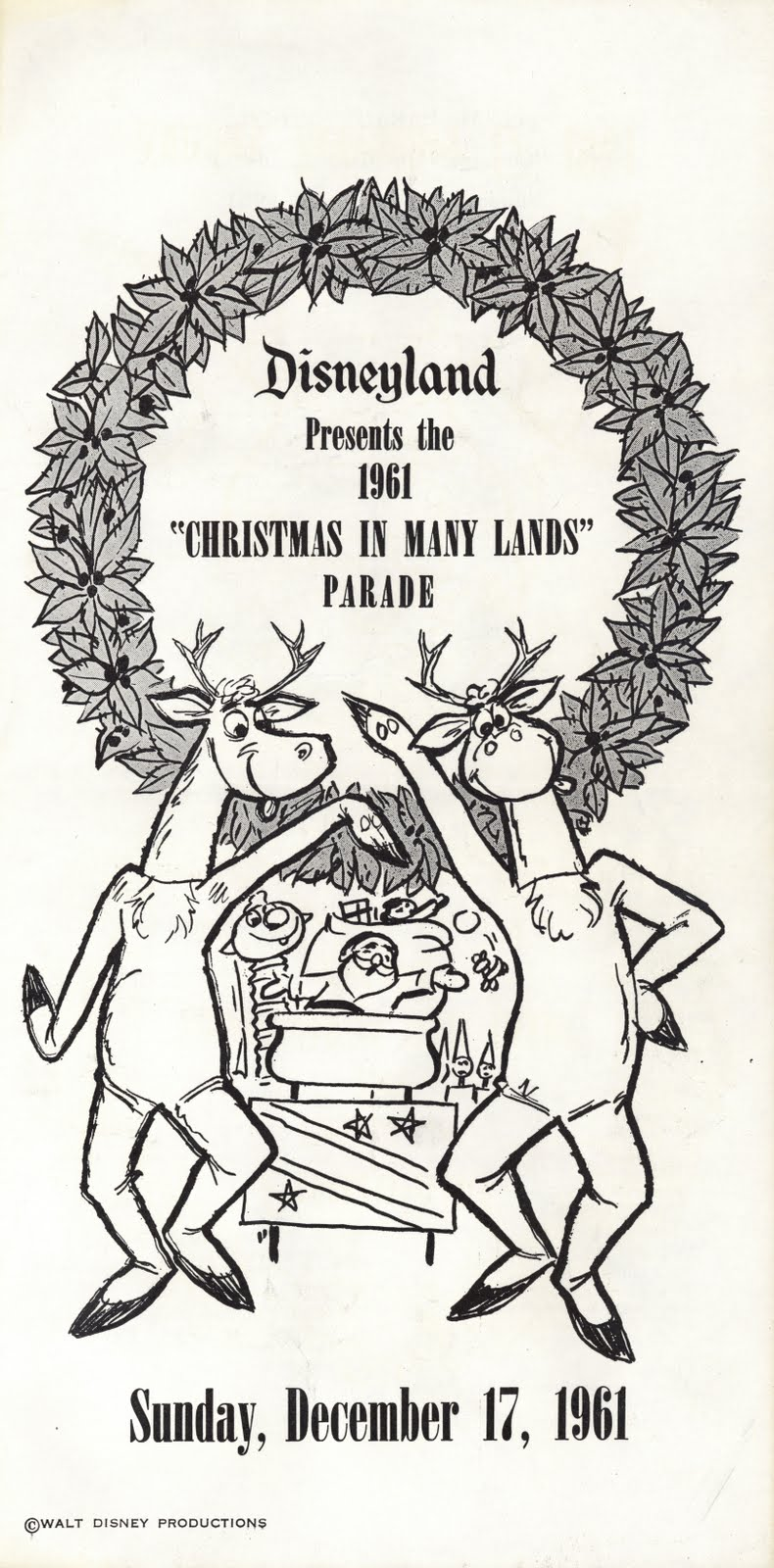 Vintage Disneyland Tickets: Christmas in Many Lands at Disneyland ...