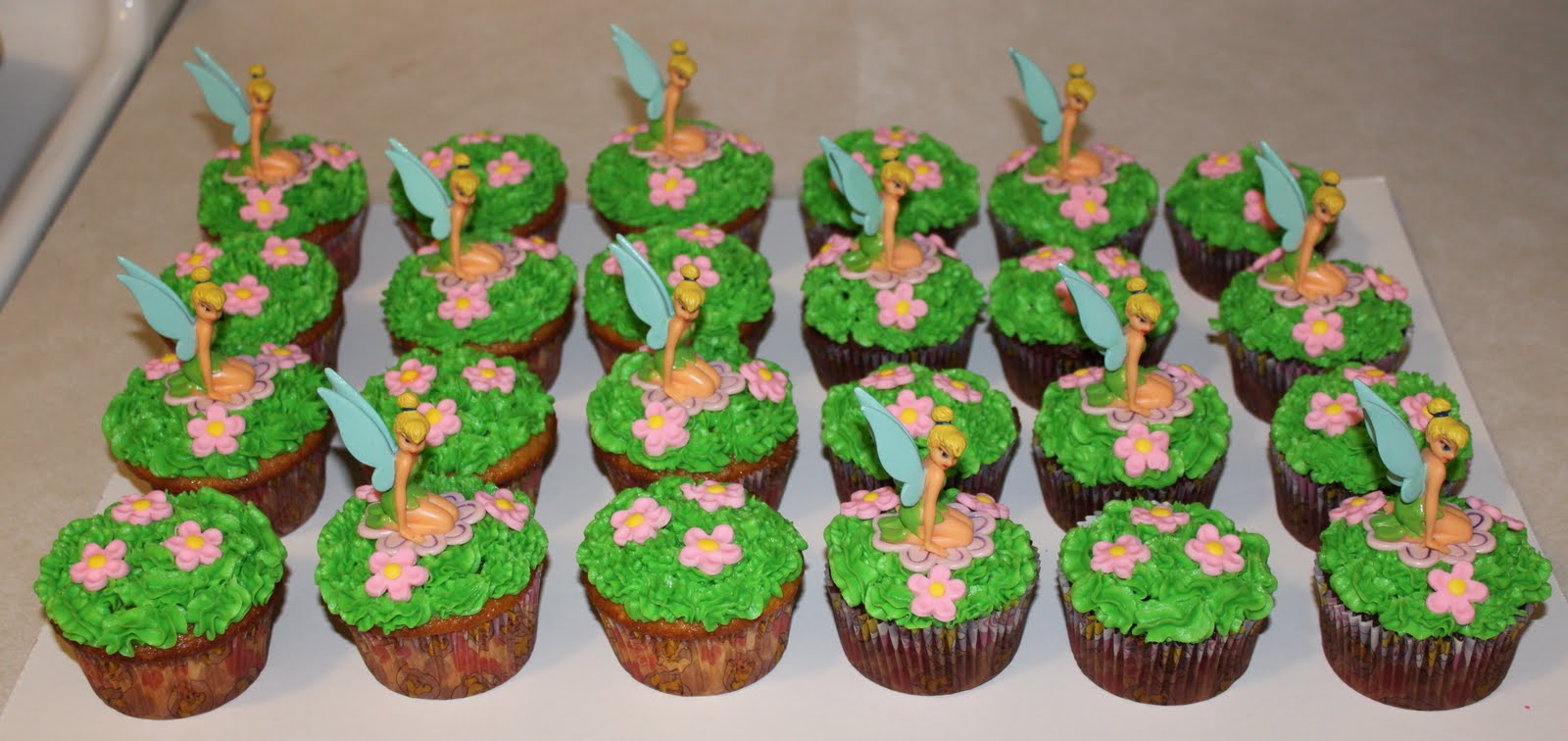unique tinkerbell cakes
