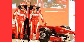 Kaspersky Support Scuderia Ferrari F1