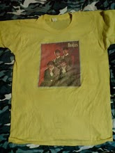 vintage the beatles iron on