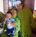 Bersama isteri & Irfan
