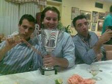Tony,Tomaso y Yo con la copa