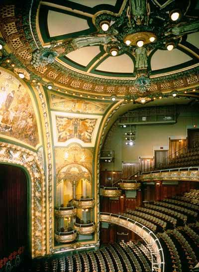 daytonian in manhattan the 1903 art nouveau new amsterdam theatre