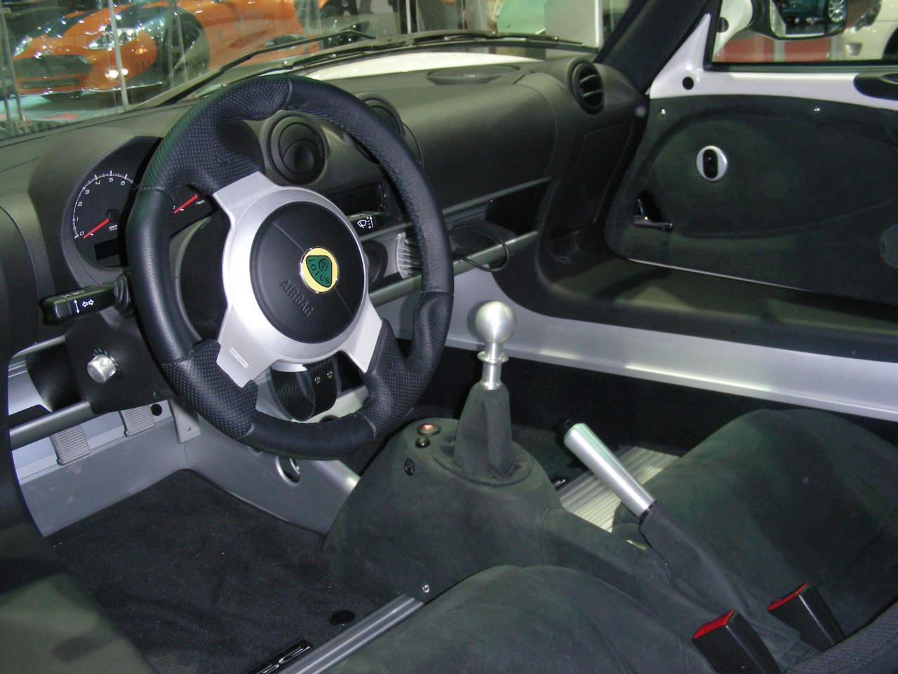 2010 Lotus Exige S Interior