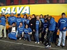 Partida hacia Plaza de Mayo en apoyo a Cristina