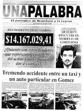 """Periodico quincenal """"Una Palabra"""""""