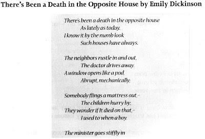 theres been a death in the opposite house