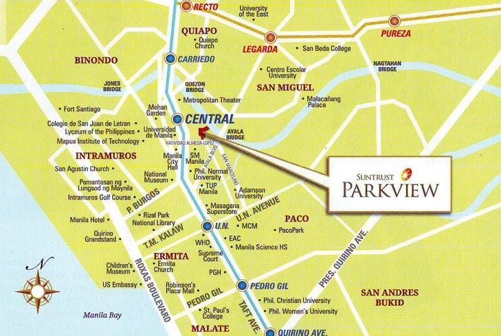 Suntrust Parkview Suntrust Properties Manila Condominium - Us embassy manila address map
