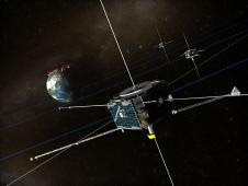 ARTEMIS Spacecraft Believed fixed by Object