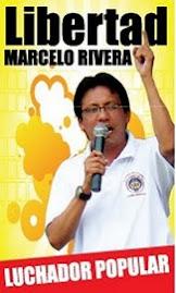 Liberdade para Marcelo Rivera - Presidente da FEUE Equador