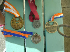 Donna's medals