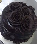 Chocolate Ganache with Roses