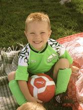 Tommy loves Soccer!
