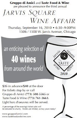 Jarvis Square Wine Affair