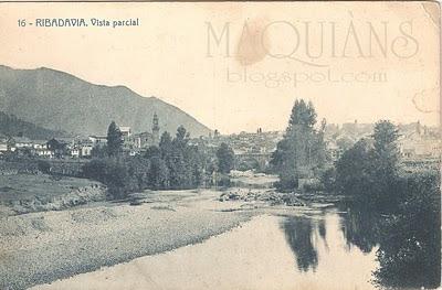 Rio Avia. Ribadavia 1912