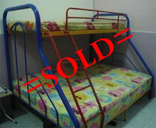 KATIL DOUBLE DECKER SOLD TODAY