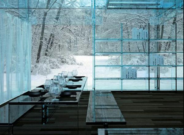 Extreme Home Unique Glass Home Design Ideas From Carlo Santambrogio