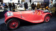 The coolest car at the NY Auto Show has to be the Jaguar SS100 Roadster from .
