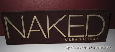 Urban Decay Naked Palette (closed)