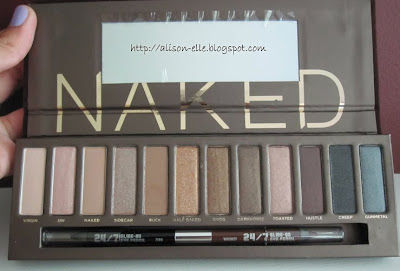 Urban Decay Naked Palette (open)