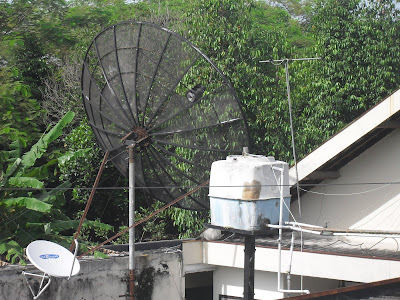 Teknik Pasang Parabola Satellite