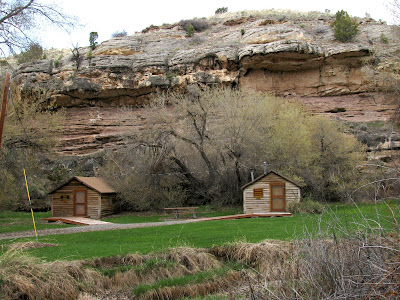 Medicine Lodge State Archaeological Site, Hyattville, Wyoming