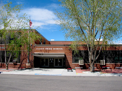 Cloud Peak School, Manderson, Wyoming