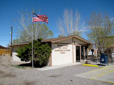 Post Office, Manderson, Wyoming