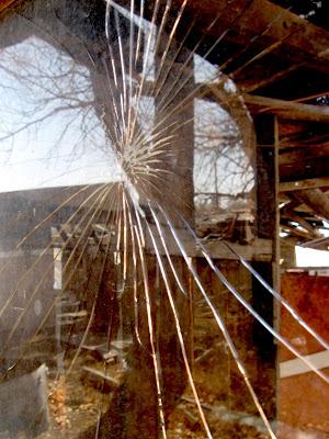 abandoned house, Wyoming
