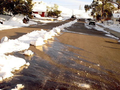 snow removal in Thermopolis, Wyoming