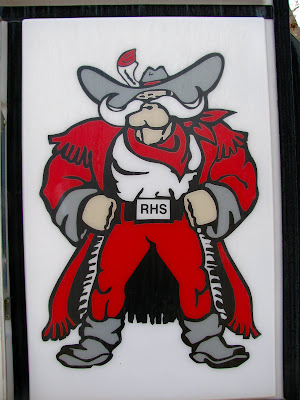 Riverside High School mascot, Basin, Wyoming