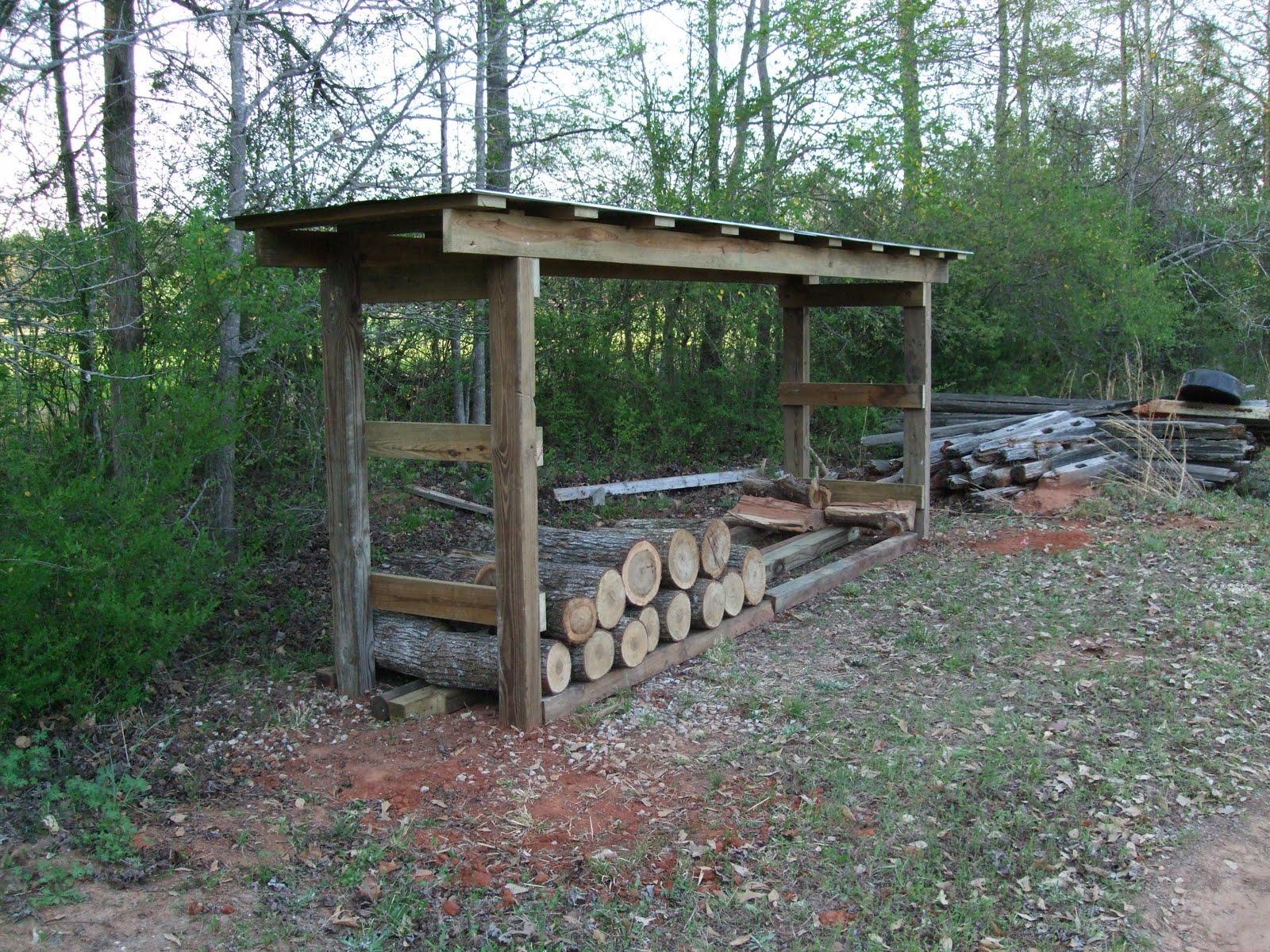 Life Enjoyed To The Fullest: Firewood Shed