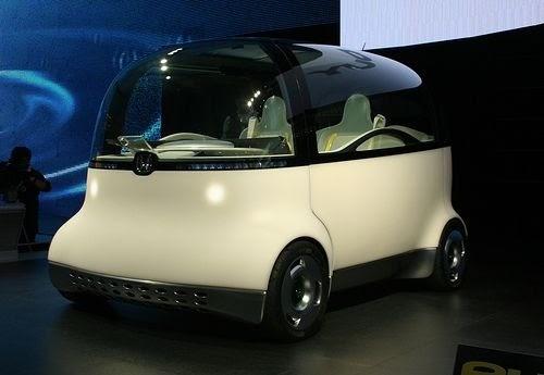 New Design Car New Honda Puyo Concept Car