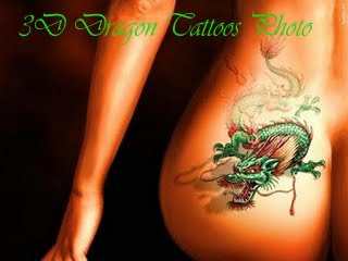 3D Dragon Tattoos Photo