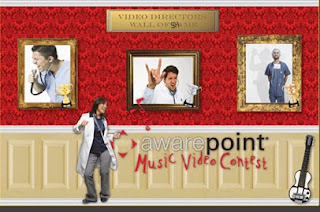 The Awarepoint Big RTLS Music Video Contest!