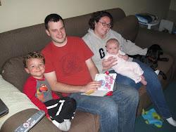 Sean, Scott, Mary & Evie
