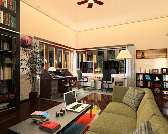 Office And Studio 3D Models Inspiration