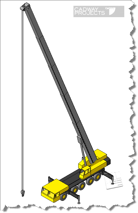 Mobile Crane Revit Family : Revit rants making a completely parametric mobile crane