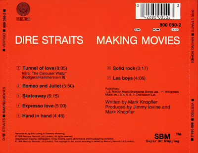 DIRE STRAITS ? - ? MAKING MOVIES ? 1980